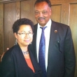 Barbara Ransby and Jesse Jackson