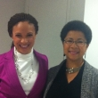 Barbara with Melissa Harris Perry