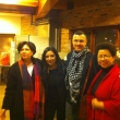 Camille Odeh, Leena Odeh, Omar Barghouti, and Barbara Ransby
