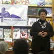Barbara at Women and Children First Bookstore