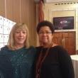 Barbara With Nobel laureate Jody Williams in Belfast